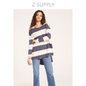 Z Supply French Terry Oversized Top
